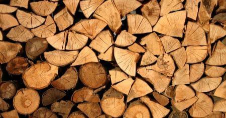 Holzstoß für Brandklasse A