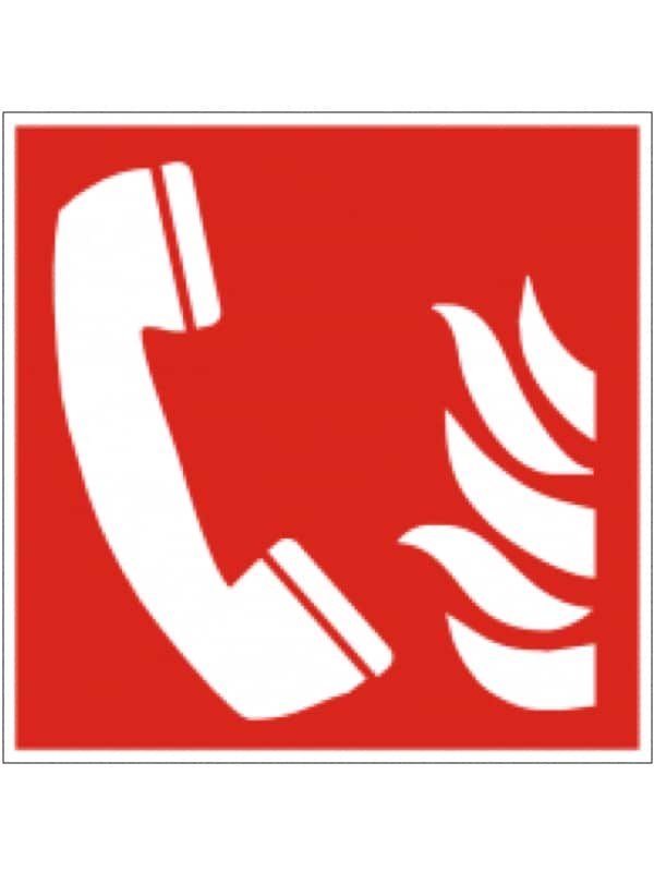 Piktogramm Brandmeldetelefon