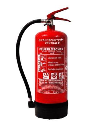 Fettbrandfeuerlöscher inkl. Wartung und Service mieten