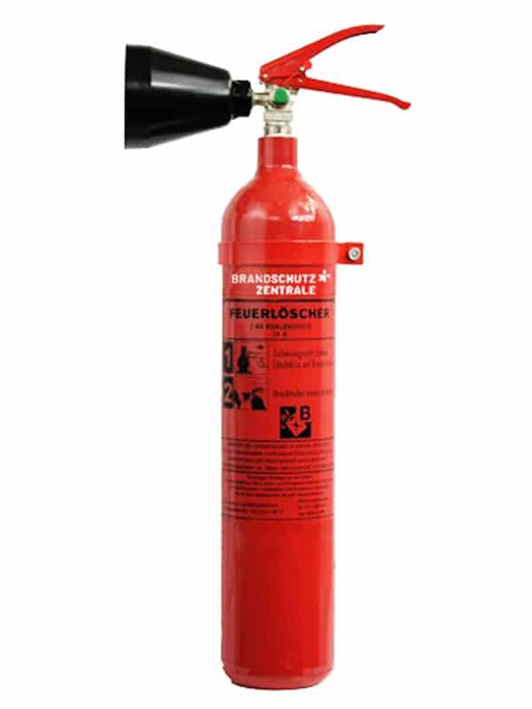 CO2 Feuerlöscher inkl. Wartung und Service mieten