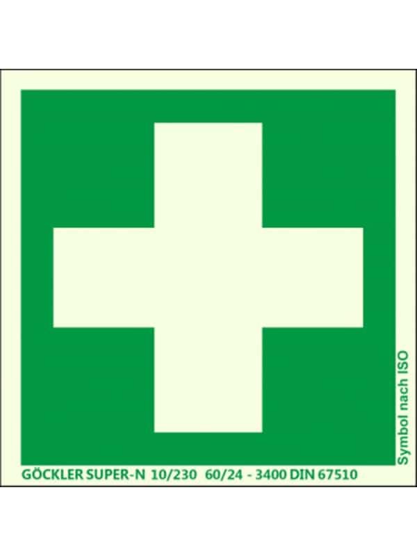 Erste Hilfe Symbolschild