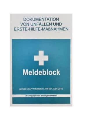 Meldeblock