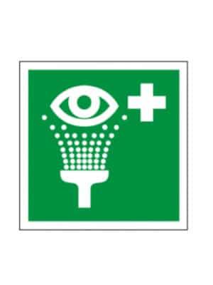 Rettungsschild Augenspülung