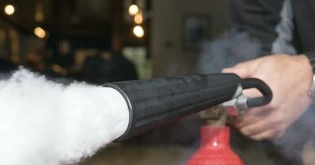 CO2-Feuerloescher