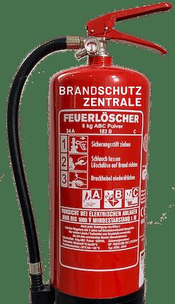 feuerloescher brandschutzzentrale